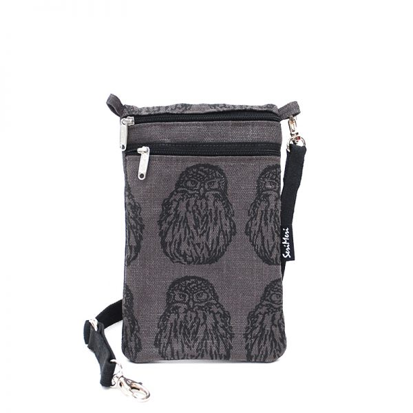 Mobile Bag Owl, granite