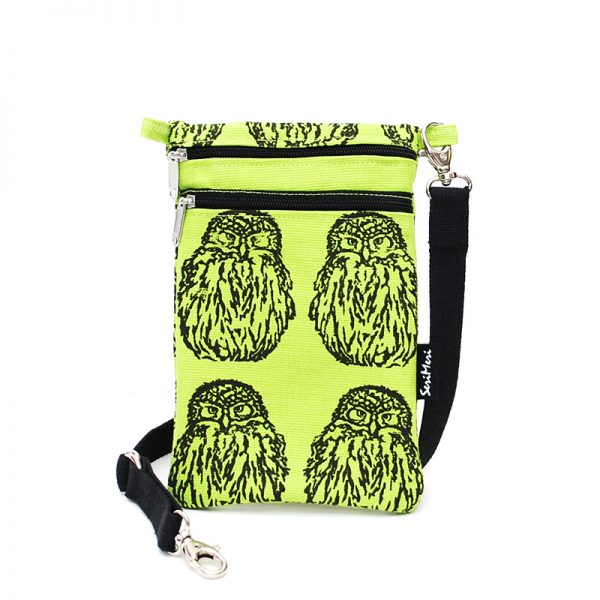 Mobile Bag Owl, AppleGreen