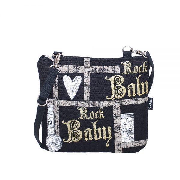 Rock Baby Taidelaukku on yksilöllinen ja ainutkertainen laukku, tehty juuri sinulle Rock Baby.