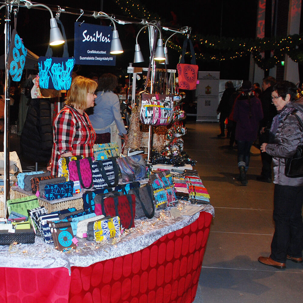 Porvoon Taidetehtaan Joulumarkkinat