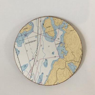 Lasinalusta merikartta sarja B, Helsinki - Parja