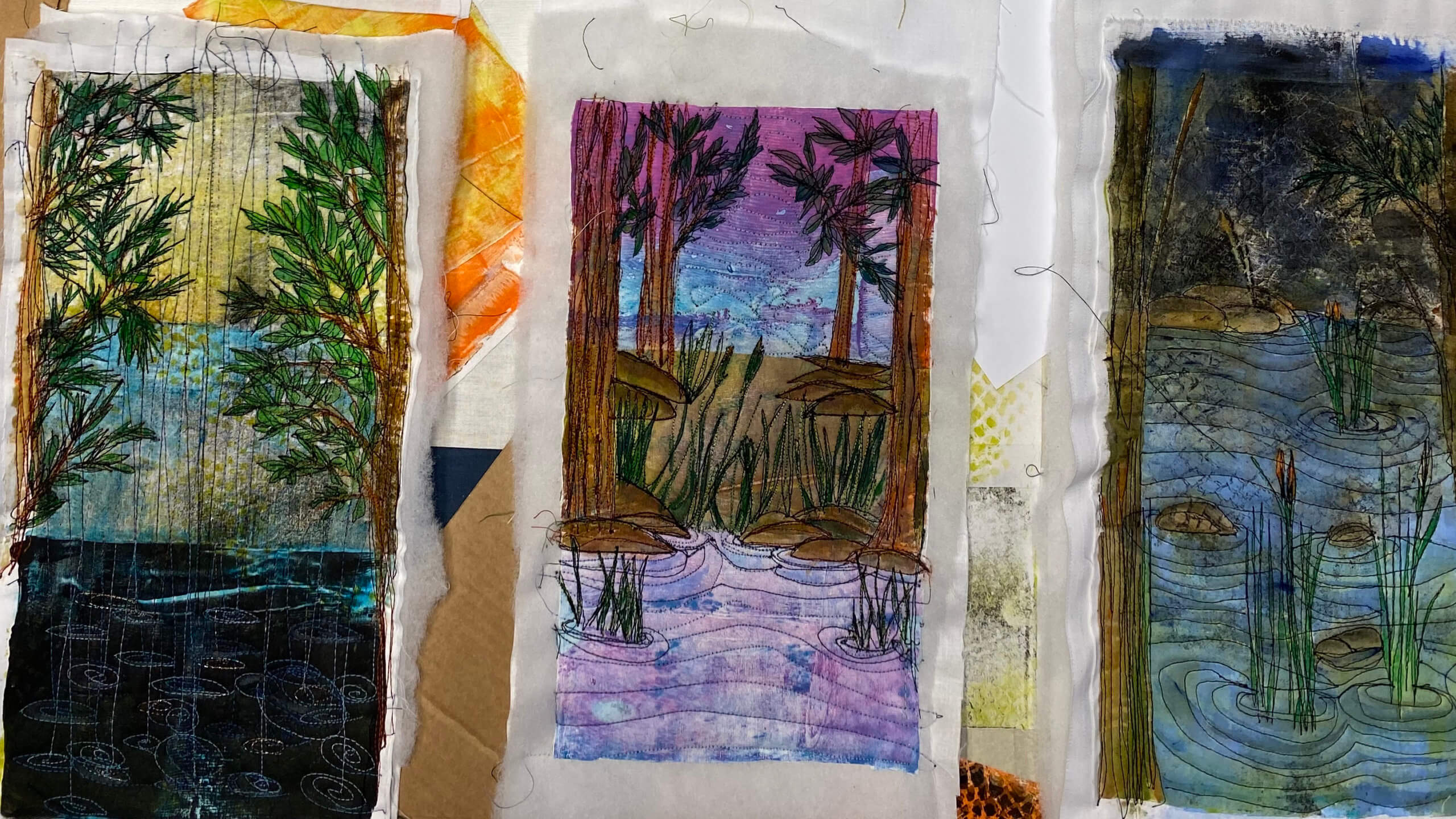 Mixed Media Quilts: By the Sea